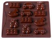 PavonIdea Chocolade-/ Ijsvorm 'Toys'