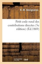Petit Code Rural Des Contributions Directes