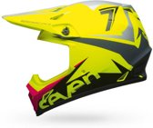 Bell Crosshelm MX-9 MIPS® Seven Ignite Gloss Fluor Yellow-M