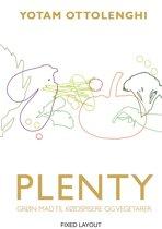 Boekomslag van 'PLENTY - Grøn mad til kødspisere og vegetarer'
