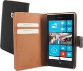 Mobiparts - zwarte premium booktype hoes voor de Nokia Lumia 520