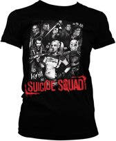 SUICIDE SQUAD - T-Shirt Suicide Theme - GIRLY (S)