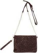 Jozemiek Leopard Bag Choco Large