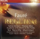 Faure: Requiem / Marriner, McNair, Allen