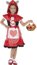 """""""Rood sprookjes kostuum voor meisjes  - Kinderkostuums - 104-116"""""""
