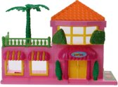 Jonotoys Speelhuis Dream House Meisjes 16.5 Cm Oranje