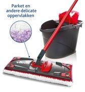 Vileda UltraMax Microfibre Sensitive - Complete kit platte mop + persemmer - om parket en delicate oppervlakken te reinigen