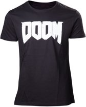 Doom Next Gen Logo Black TShirt XL