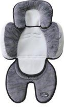 B-snooze 3 in 1 babykussen - Grijs-Zwart Kleur: Grijs-Zwart