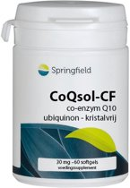 Springfield Coqsol Co-Enzym Q10 - 60 V Capsules - Voedingssupplement