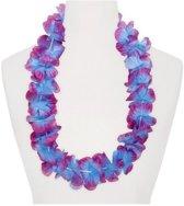 Hawaii slinger paars/blauw