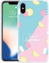 Apple iPhone Xs Max Hoesje Sweet Summer