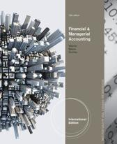Financial & Managerial Accounting, International Edition