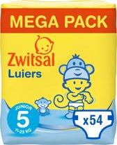 Zwitsal Luiers - Junior Maat 5 - 54 stuks - Mega Pack