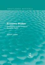 Economic Studies (Routledge Revivals)