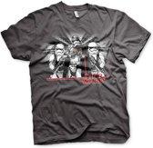 STAR WARS 7 - T-Shirt Captain Phasma - Dark Grey (M)