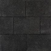 25 stuks! Topcolors onyx zwart 20x30x6 cm Gardenlux