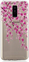 Samsung Galaxy A6 Plus TPU Hoesje Plum