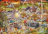 Gibsons puzzel I Love Autumn - Mike Jupp - 1000 stukjes