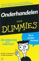 Voor Dummies - Onderhandelen voor Dummies