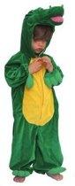 Krokodil kinder kostuum pluche 116