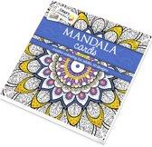 Craft Kleurboek Sensations Mandala Cards Blauw
