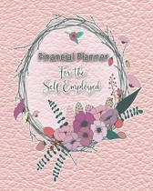 Financial planner for the self employed: The comprehensive diary organiser for the entrepreneur, self employed or small business owner - Delicate pink