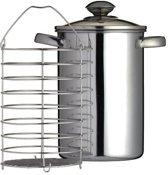 Kitchencraft Kookpan Aspergepan 3 liter