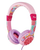 Trust Urban Spila - Over-ear Kinderkoptelefoon - Flower