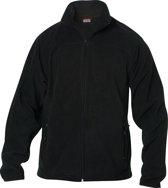 Cameron fleecejas polyester 290 g/m² zwart xl