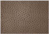 Daff Leatherixx Placemat Emu - Leer - 33 x 45 cm - Cedar