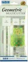 PME Geometrische Multi-Uitsteker Vierkant Set/3