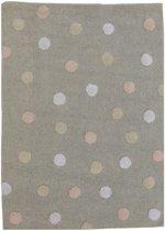 Lorena Canals Vloerkleed Tricolor Roze - 160x120 cm