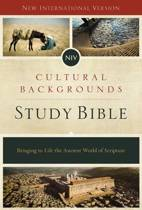 NIV CULTURAL BACKGROUNDS STUDY BIBLE HAR