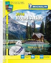 USA Canada Mexico Atlas 2018
