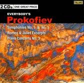 Symphonies Nos. 1 & 5/Romeo & Juliet, Excerpts/Con