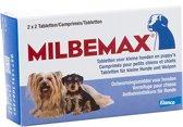 Milbemax Ontwormingsmiddel - Kleine Hond - 2x2 Tab