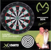 XQ Max Wereldkampion 2014 Michael van Gerwen - Dartbord