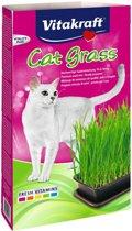 Vitakraft Cat-Gras - Spijsverteringsmiddel - 3 ST à 120 g