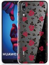 Huawei P20 Hoesje Roses