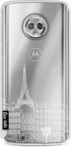 Casetastic Softcover Motorola Moto G6 - Paris City houses White