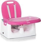 Baninni Yami Luxe Stoelverhoger - Booster Seat met eetblad Pink