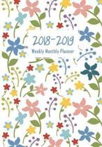 Calendar Schedule Organizer, Weekly Monthly Planner 2018-2019