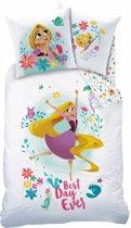 Disney Rapunzel Nature - Dekbedovertrek - Eenpersoons - 140 x 200 cm - Multi
