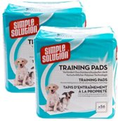 Simple solution puppy training pads 2x 56 st 54x57 cm