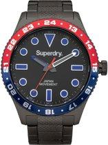 Superdry retro sport SYG143BM Mannen Quartz horloge