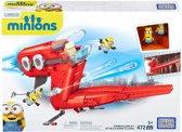 Mega Bloks Minions Supervillain Jet - Constructiespeelgoed