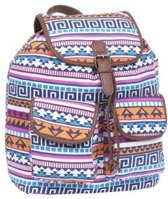 Adventure Bags Aztec Rugtas - Blauw/ Multi