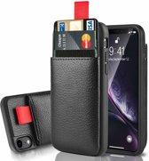 ShieldCase Leren case met pashouder iPhone  Xr