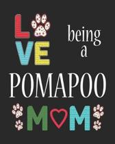 Love Being a Pomapoo Mom